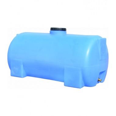 Емкость горизонтальная круглая 150 литров