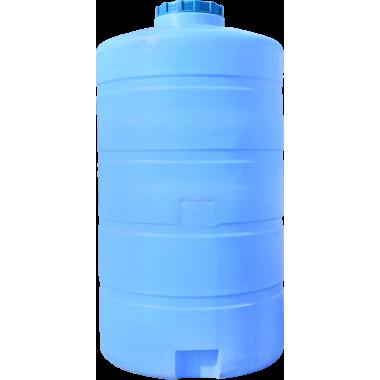 Емкость вертикальная круглая 1250 литров